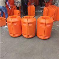 对夹式抽沙船管道浮筒 聚乙烯浮筒定制