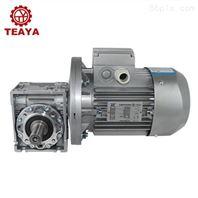 铝合金高效伺服法兰蜗轮减速机