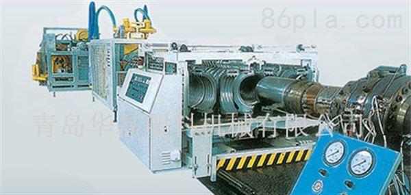 PVC、PE双壁波纹管生产线