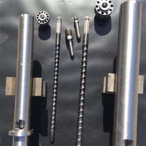 突变型双金属螺杆机筒