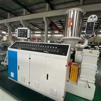 pp硅芯管pp聚丙烯卷芯管塑料挤出机生产线