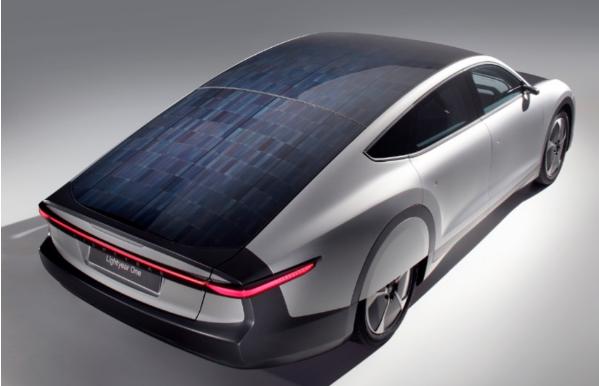 長續航太陽能電動車面世!由普利司通攜手Lightyear公司共同打造