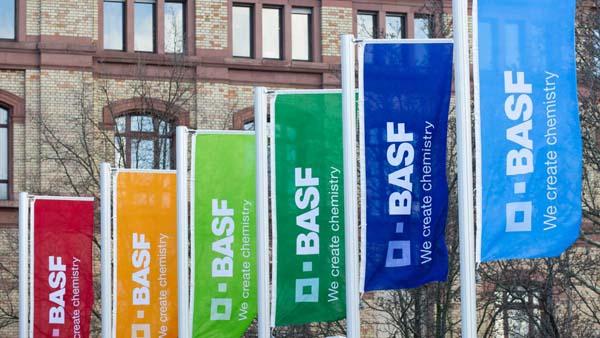 巴斯夫2021年Q2銷售額同比增長55.8%
